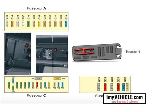Audi C5 Fuse Box Wiring Diagram