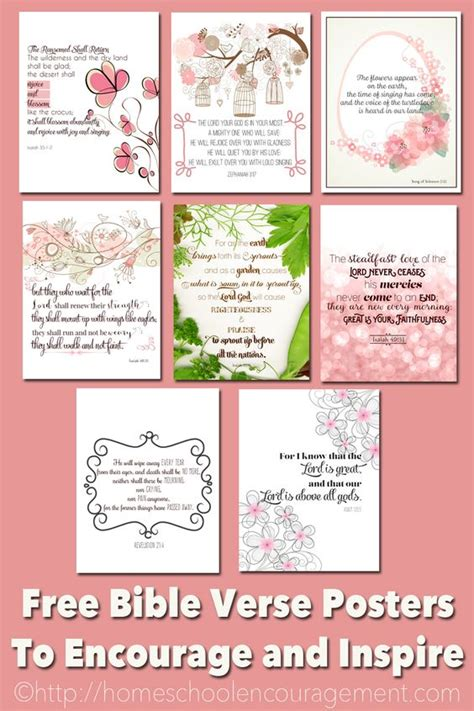 printable homeschool quotes free printable bible verses to encourage and inspire
