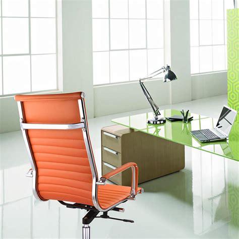 Office Desk Colors Ergonomic High Back Pu Leather Office Chair Computer Desk