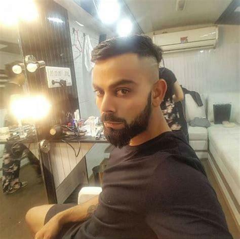 hairstyles new ealand virat kohli flaunts new hairstyle ahead of new zealand