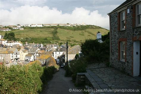 roscarrock hill from fern cottage doc martin s house
