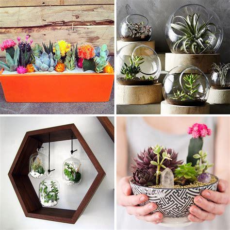 Idees Decor by 25 Id 233 Es D 233 Co Avec Des Cactus Des Succulentes