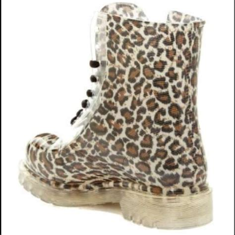 Cheetah Boots lace up cheetah boots 8 from s closet on poshmark