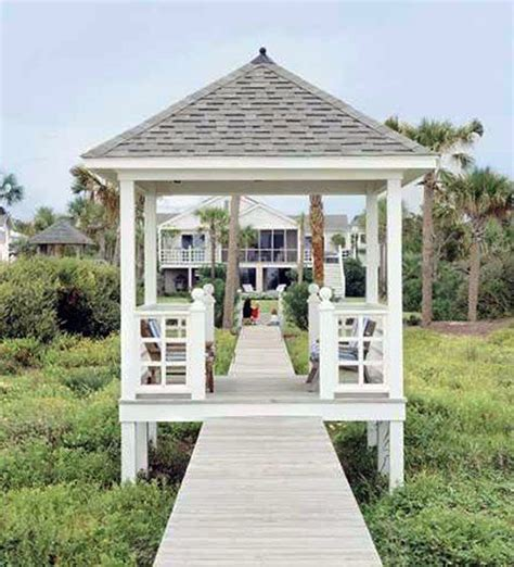 southern patio gazebo walk in the o jays and southern living on