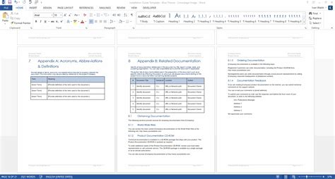 hardware documentation template installation guide template ms word instant