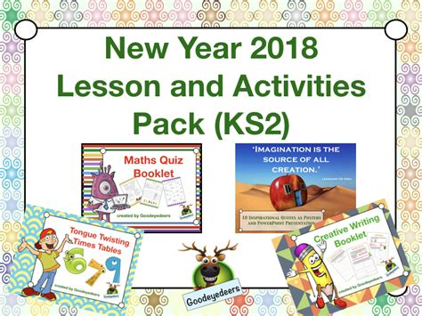 new year for ks2 the goodeyedeers shop teaching resources tes