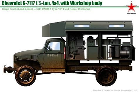 chevrolet g 7117 mobile workshop