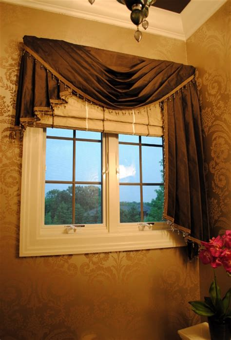 window decor powder room powder room window treatment