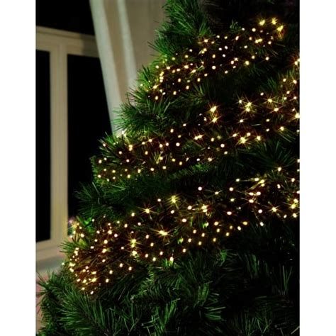 premier traditions christmas lights premier decorations set of 2000 multi traditional golden glow led cluster lights