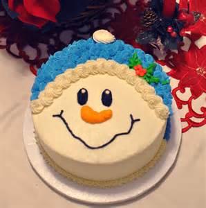 the bake more snowman face cake