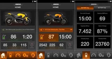 Motorrad App by Zero Motorcycles Releases Motorcycle Mobile App