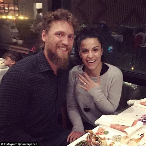 pence and wife to get tour of new digs san francisco giants hunter pence proposes to girlfriend