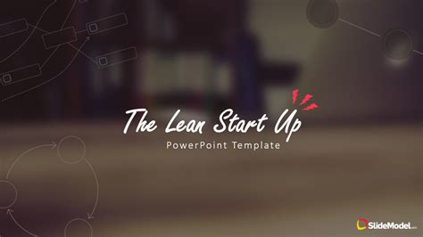 theme powerpoint 2010 anime lean startup methodology powerpoint template slidemodel