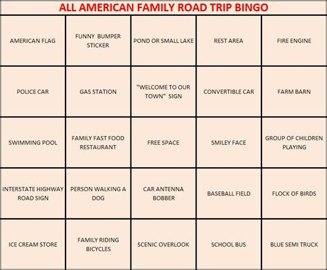 make your own bingo cards for the gallery for gt bingo cards for