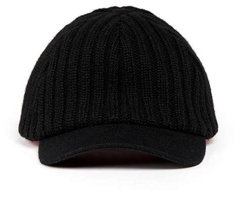 knit baseball cap my bob knit baseball cap shopstyle hats