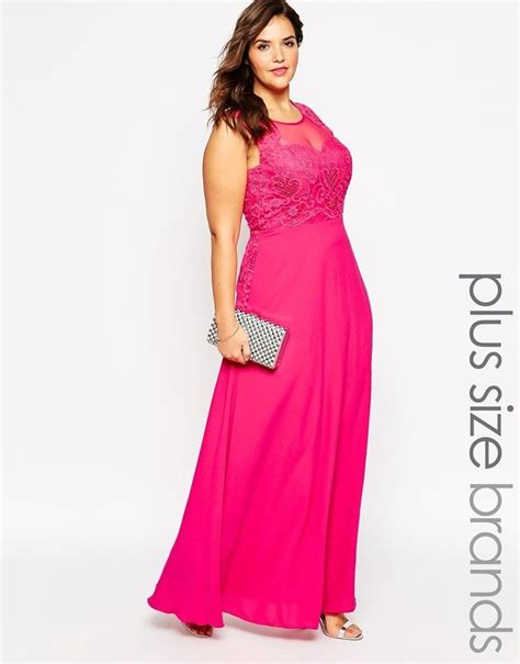 Dress Pink Kutung 1000 images about 176 plus size maxi dresses 176 176 on