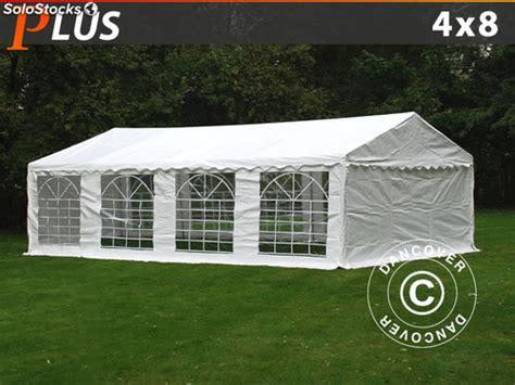 pavillon 8x4 carpa para fiestas y eventos plus 4x8 m pe blanco