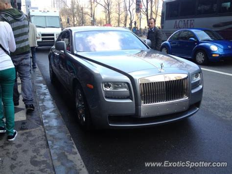 rolls royce ghost spotted in new york new york on 03 06