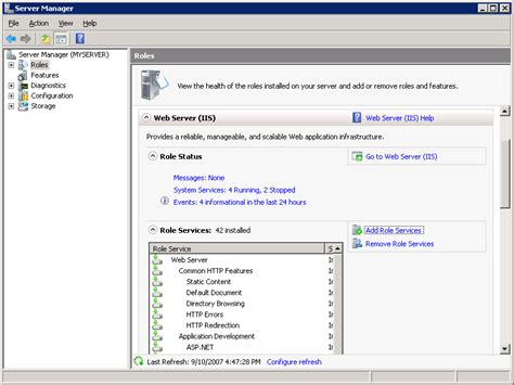 configure xp as web server configure ftp with iis manager authentication in iis 7