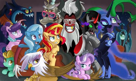 Villain Couch Party Night   My Little Pony: Friendship is Magic   Know Your Meme
