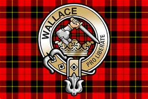 Quot wallace clan crest quot by eyemac24 redbubble
