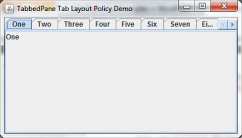 java scrollable layout how do i scroll or wrap jtabbedpane tab layout kode java