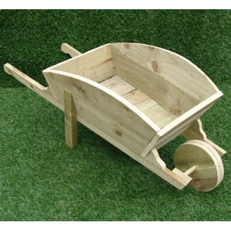 How To Make A Wheelbarrow Planter by Wooden Wheelbarrow Planter Diy Wood Wheelbarrow