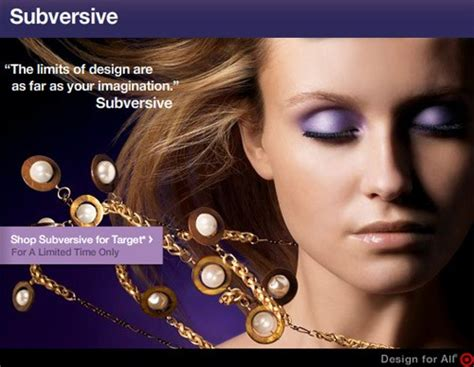 Justin Giunta And Subversive Jewelry For Target by Subversive For Target Available Now Nitrolicious