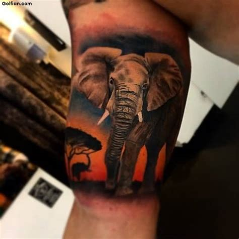 55 wonderful african animal tattoo designs african