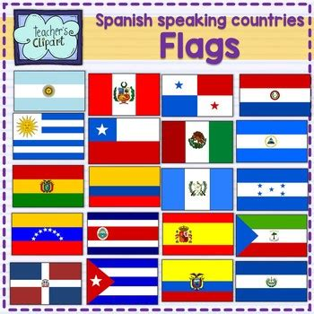 flags of the world quiz ppt spanish speaking countries flags banderas pa 237 ses