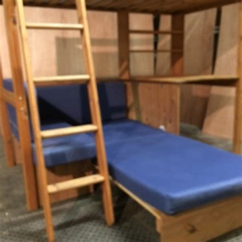 bunk bed sleeper sofa high sleeper bunk bed with sofa bed and desk for sale in