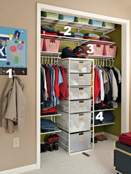 Closet Storage Ideas by Ideas For Organizing Closets