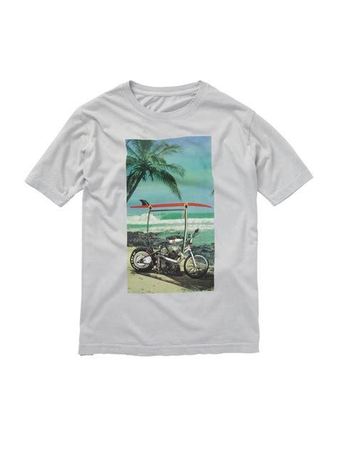 Kaos T Shirt Quiksilver T Shirt boys 8 16 bali harley t shirt aqbzt00433 quiksilver