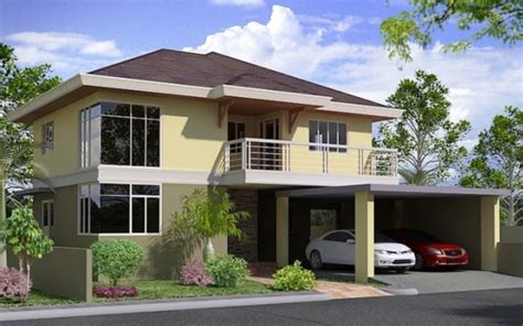 Modern House Designs And Floor Plans Philippines 2 storey house design philippines modern house plan 2