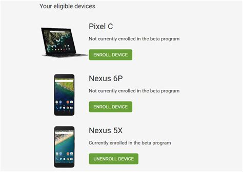 android beta program how to install the android 7 1 developer preview on your device extremetech
