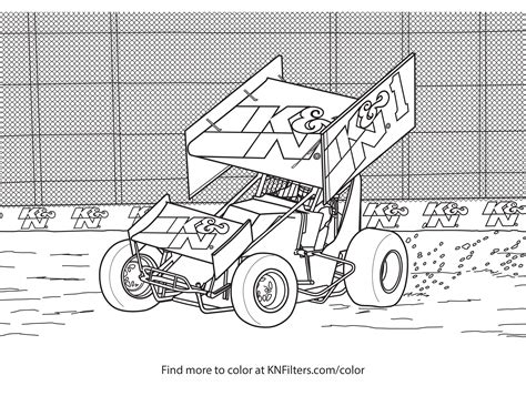sprint car coloring page sprint car coloring sheets murderthestout