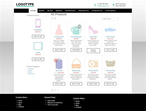 woocommerce template free superstore free woocommerce template