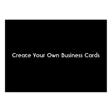 make your own cards business card create your own zazzle