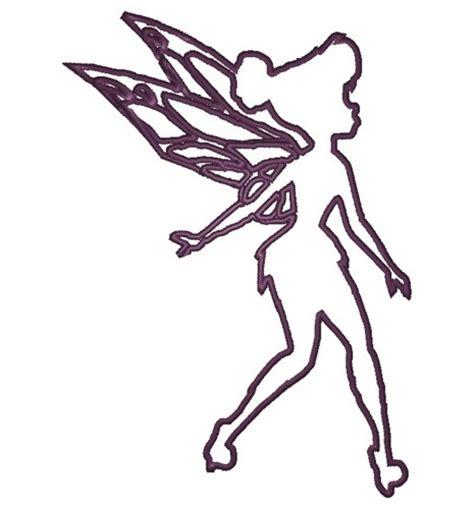 fairy outline embroidery designs machine embroidery