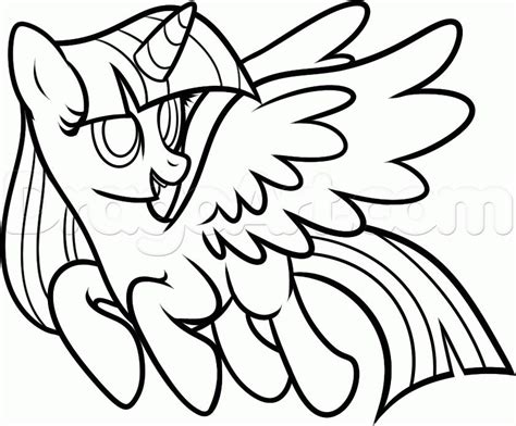 mlp coloring pages princess twilight free coloring pages of twilight sparkle