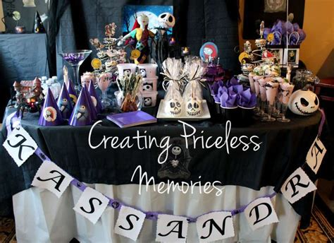 nightmare before christmas party decorations photograph im