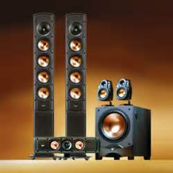 Car Audio Home Theater How Klipsch Rvx 54 Home Theater Speaker System Review