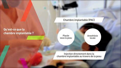 cotation perfusion sur chambre implantable chambre implantable chimio la chimiothrapie classique