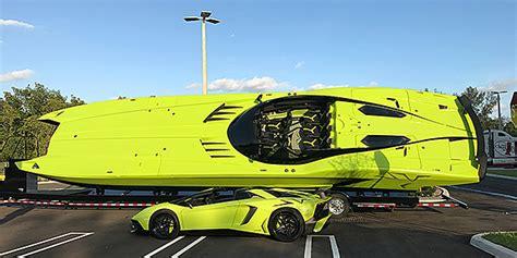 lamborghini aventador superveloce boat a new lamborghini inspired powerboat the super veloce