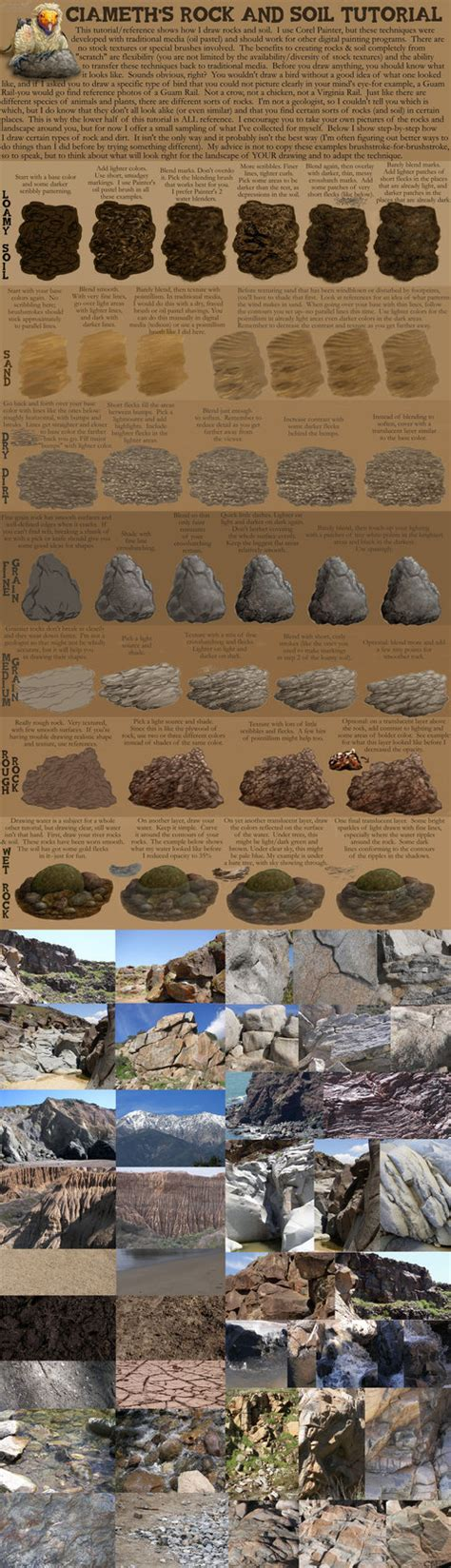 soil pattern coreldraw ciameth s rock tutorial by ciameth on deviantart