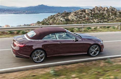 mercedes e class coupe convertible mercedes e class cabriolet unveiled autocar