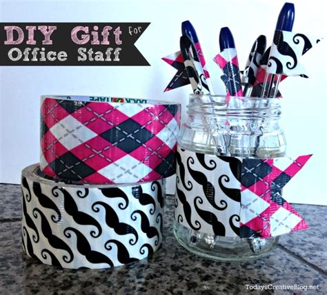 gifts for office staff diy pen flags