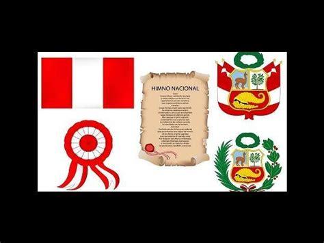 simbolos de la patria peru para pintar fiestas patrias 2013 conoce la historia de los s 237 mbolos