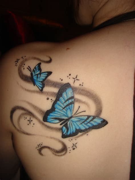simple butterfly tattoo design designs