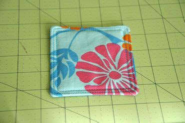 fabric crafts quick fabric coasters a and easy sewing project angie s
